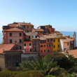 Tellaro fishing village of Italy Big landscape — Stock Photo #45540309