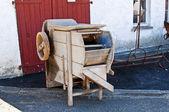Gammal maskin för potatis tvätt — Stockfoto