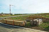 Construction field — Stock Photo