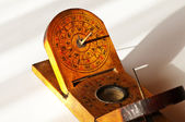 Antique chinese sundial — Stock Photo