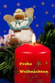 Merry Christmas card — Stock Photo