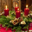Advent wreath — Foto Stock #16853213