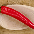 Stock Photo: Chili Cayenne