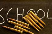School shooting — Stock Photo