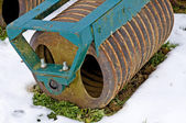 Agriculture machine in hibernation — Stockfoto