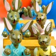 Easter bunnies at school — Stock Photo