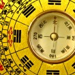Stock Photo: Chinese Feng Shui compass