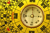 Chinese Feng Shui compass — Photo