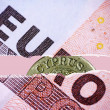 Euro and Cyprus — Stock Photo