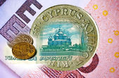 Euro or Rubel in Cyprus — Stock Photo