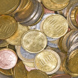 Euro coins — Stock Photo #23455106
