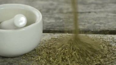 Herbs of provence — Stock Video