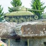 American M4 Sherman tank — Stock Photo