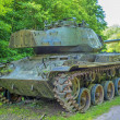 German tank of the second world war — Stock Photo