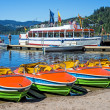 Lake Titisee, Black Forest Germany — Stock Photo