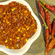 Stock Photo: chili powder