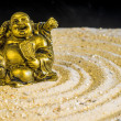 Buddha in zen circle — ストック写真