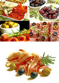 Mediterranean appetizers — Stock Photo