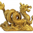 Stock Photo: Chinese feng shui dragon