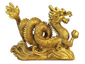 Chinese feng shui dragon — Stock Photo