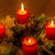 Advent wreath — Stock Photo #36865119