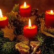 Advent wreath — Stock Photo #36865201