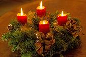 Advent wreath — Stockfoto