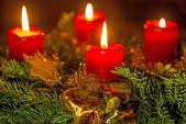 Noel çelenk — Stok fotoğraf