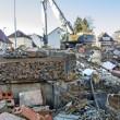 Stock Photo: Demolition area