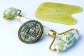 Outil de massage de jade — Photo