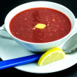 Beetroot soup — Stock Photo #39416349