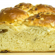 Stock Photo: Braided yeast bun
