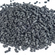 Stock Photo: Active coal for filters