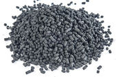 Active coal for filters — Stock Photo