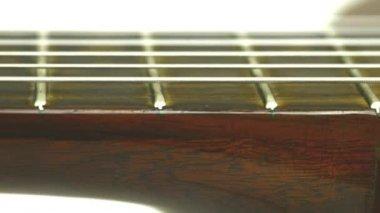 Guitar neck — Stock Video