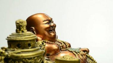 Laughing  Buddha — Stock Video