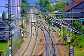 Rails in Germany — Stock Photo