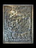 История о Рамаяна в тайский храм — Стоковое фото