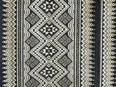 Eenhu サロン。伝統的なタイの手織りの織物. — ストック写真