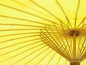 黄伞 — 图库照片