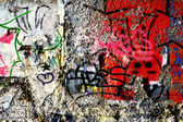 Wall graffiti — Stock Photo
