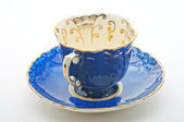 Antique Cup for tea and coffee — Stock Photo