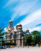 Cathedral of the Assumption of the Blessed Virgin in Varna — Stock Photo