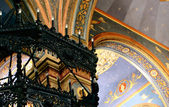 Interior painting of the church in Varna in Bulgaria — Stock Photo