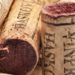 Corks from wine bottles — Stock Photo