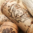 Corks from wine bottles — Stock Photo #31271297