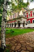 Vecchia chiesa ortodossa architettura — Foto Stock