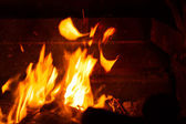 Open flame. — Stock Photo