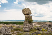 Photo of the large standing stones in the area of Varna in Bulgaria. — Stock Photo