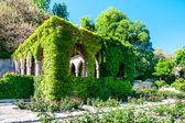 Gazebo located in the former residence of the Romanian queen Maria. — Stock Photo